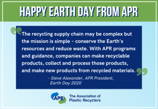 Earth Day 2020: Recycling and the Circular Economy