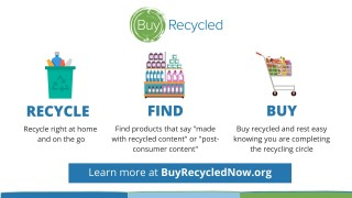 Do you Buy Recycled? Make thoughtful purchases that actually help the planet